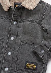 Next - BORG - Denim jacket - grey - 2