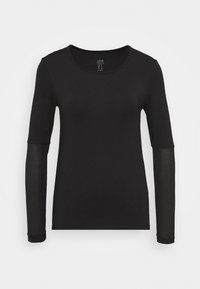 Casall - ICONIC - Long sleeved top - black - 0