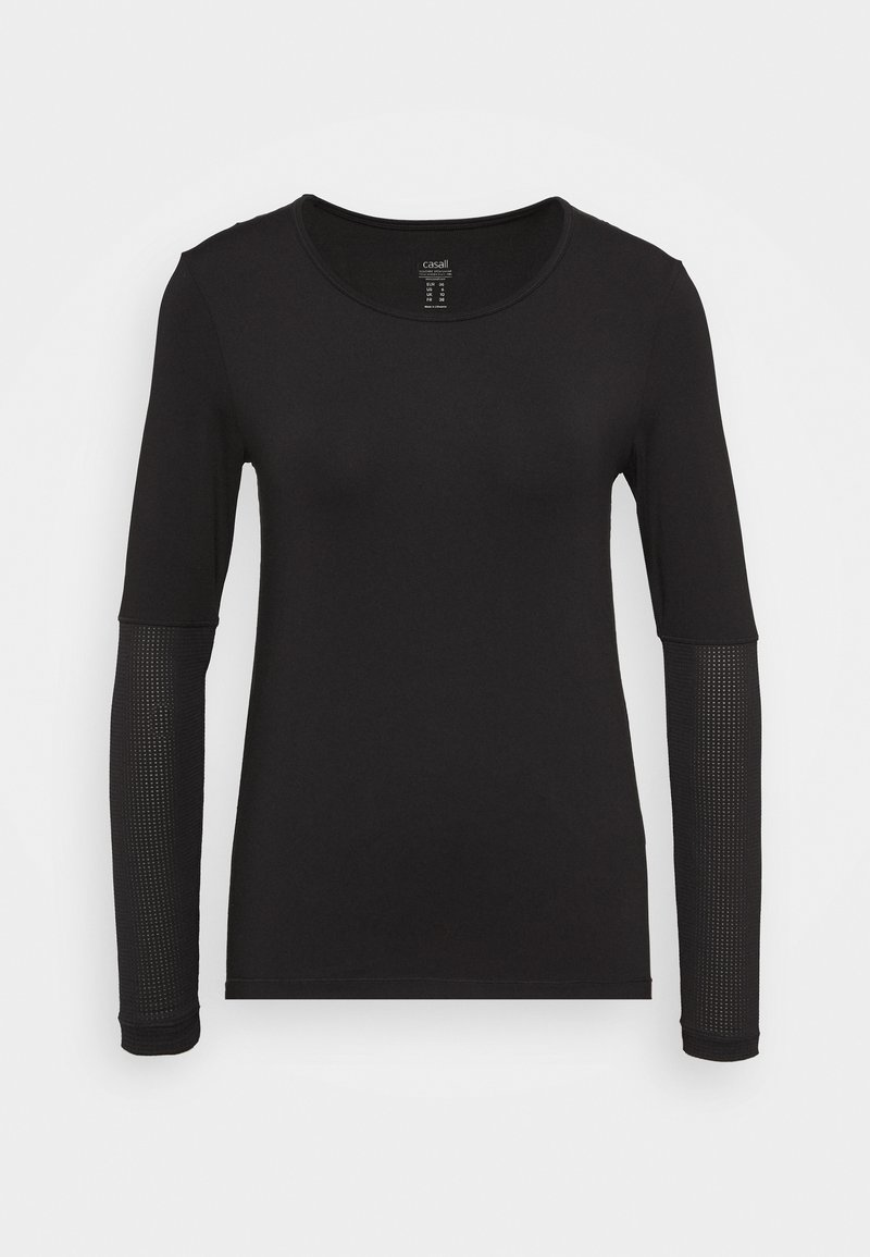 Casall - ICONIC - Long sleeved top - black