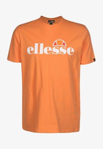 SL PRADO - Camiseta estampada - orange