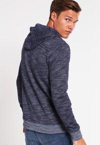Blend - REGULAR FIT - Zip-up hoodie - navy - 2