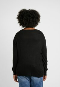 ONLY Carmakoma - CARGLAM - Jumper - black - 2
