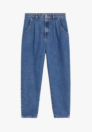 REGINA - Straight leg jeans - mellemblå