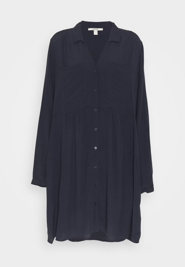 CREPE - Day dress - navy