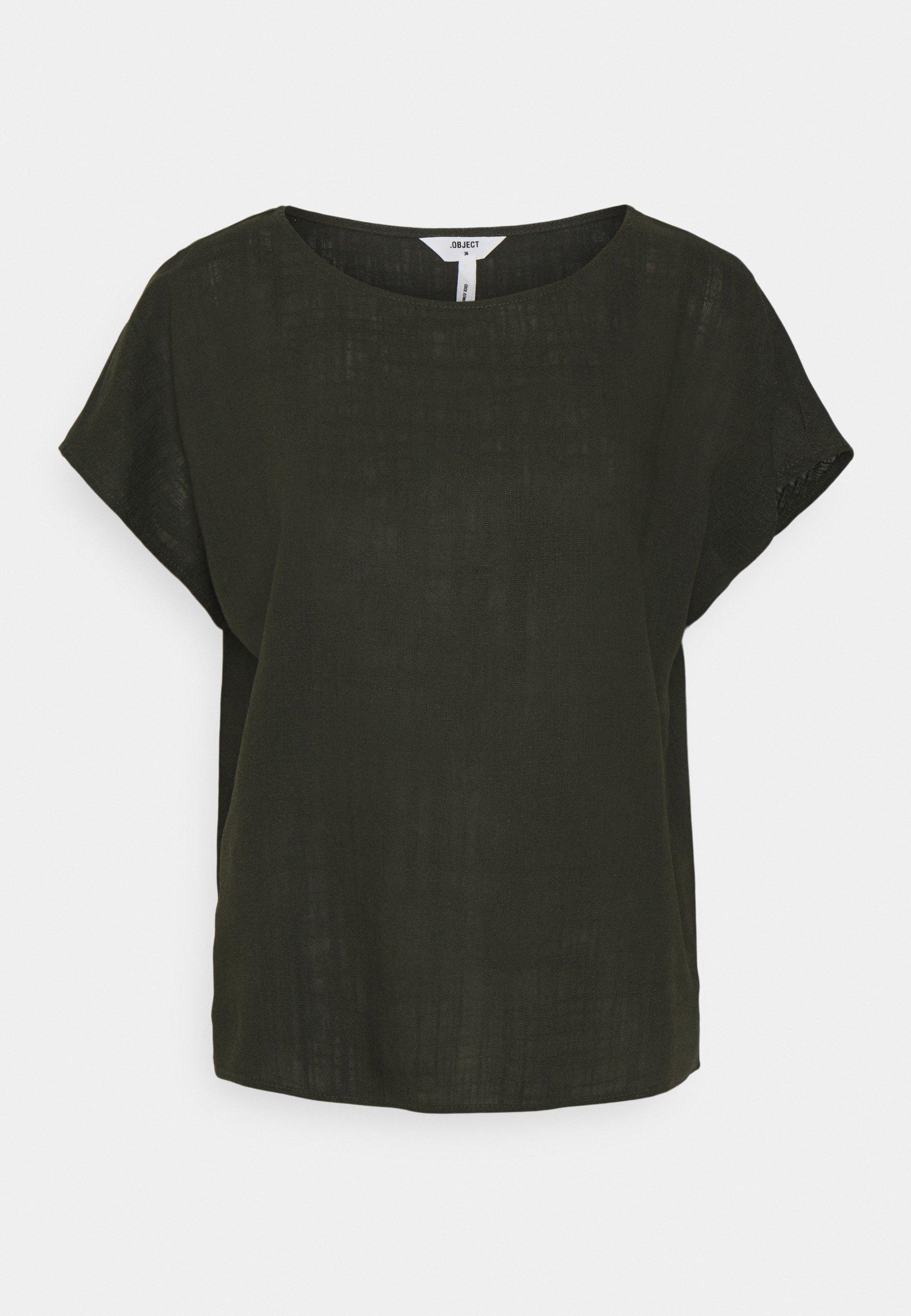 Women OBJHANNAH URBAN - Print T-shirt