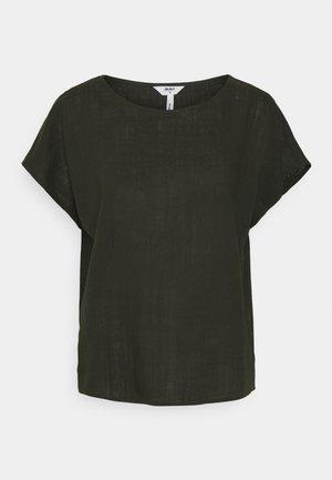 OBJHANNAH URBAN - Print T-shirt - forest night