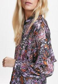 InWear - HILMA - Button-down blouse - purple flowers - 3