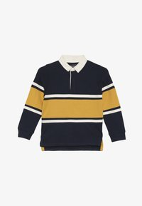 Friboo - Polo shirt - black iris/mineral yellow - 2