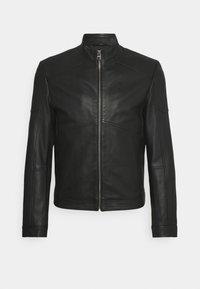 HUGO - LONUS  - Leather jacket - black - 0