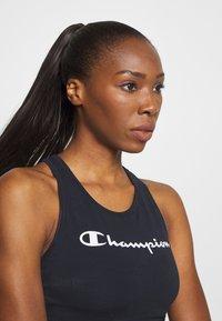 Champion - BRA LEGACY - Sports bra - dark blue - 3