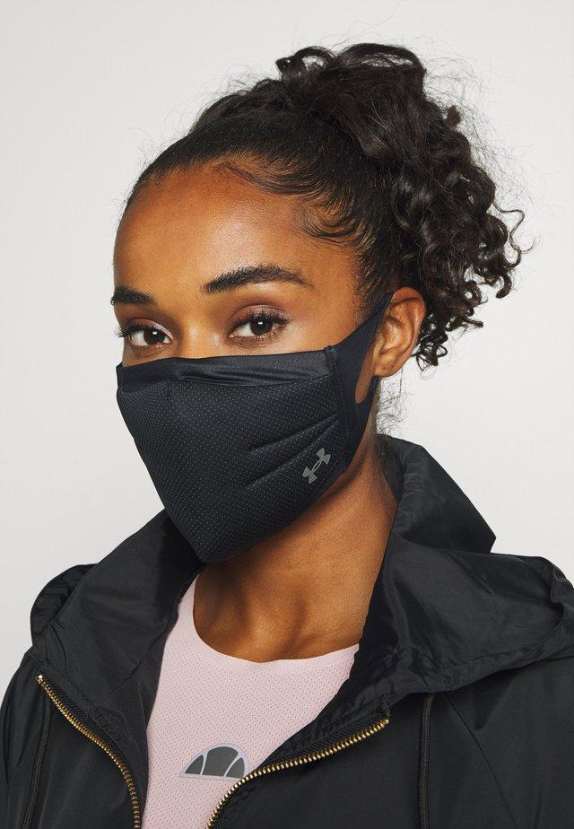 SPORTSMASK UNISEX - Community mask - black/charcoal/silver chrome