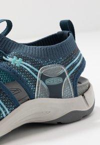 Keen - EVOFIT 1 - Walking sandals - navy/bright blue - 5