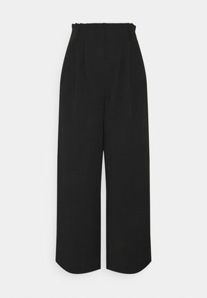 AMILA PANTS - Bukse - black