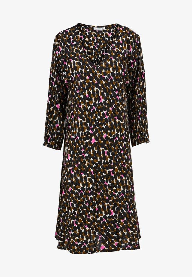 Korte jurk - tapenade
