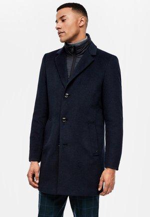 Short coat - blue melange