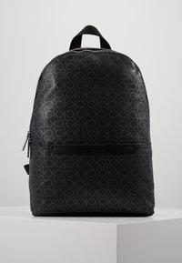 Calvin Klein - MONO ROUND BACKPACK - Tagesrucksack - black - 0