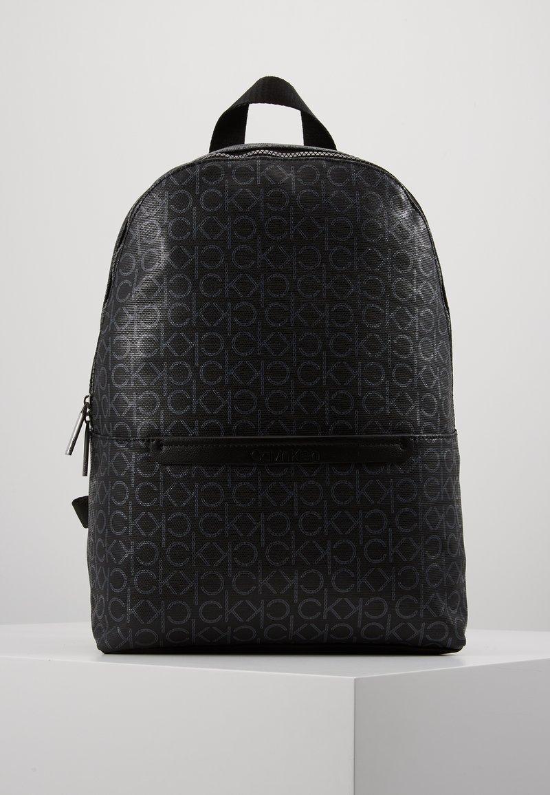 Calvin Klein - MONO ROUND BACKPACK - Tagesrucksack - black