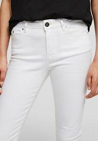KARL LAGERFELD - Trousers - white denim - 4