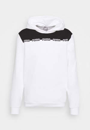 AMPLIFIED ADVANCED HOODIE - Felpa con cappuccio - white