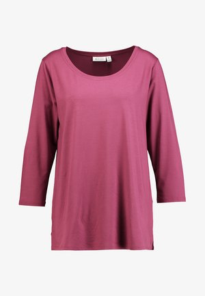 CILLA BASIC - Long sleeved top - boysenberry
