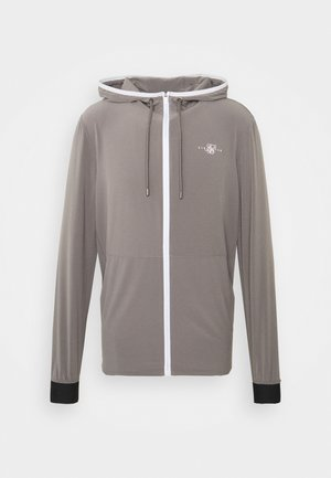 AGILITY ZIP THROUGH HOODIE - Lehká bunda - grey