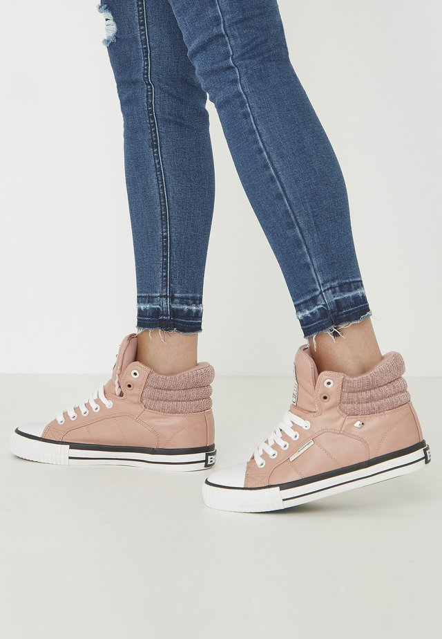 ATOLL - Sneakers alte - pink