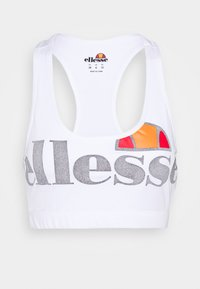 Ellesse - PRESELLE - Medium support sports bra - white - 4