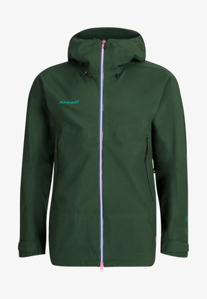 CRATER HOODED JACKET MEN - Giacca hard shell - woods
