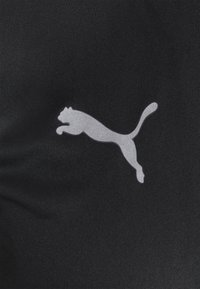 Puma - Print T-shirt - black/shocking orange - 2