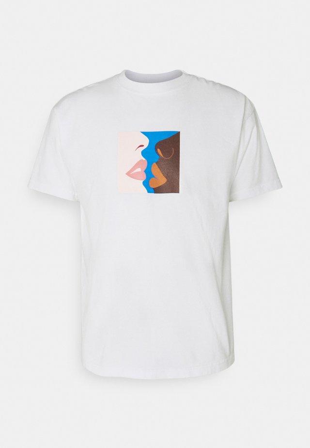 HERS - T-shirt print - white