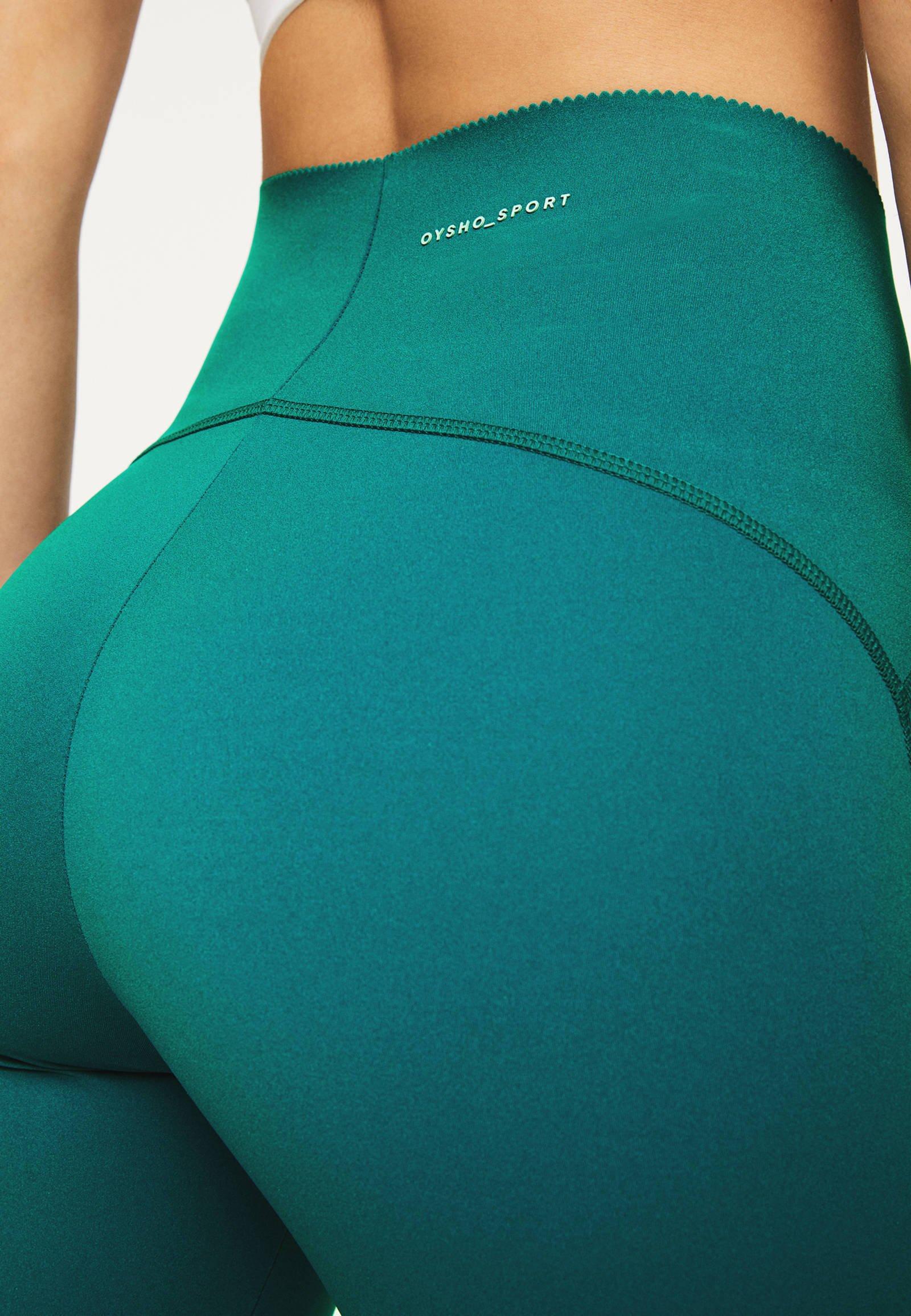 OYSHO Leggings - turquoise bxnJr