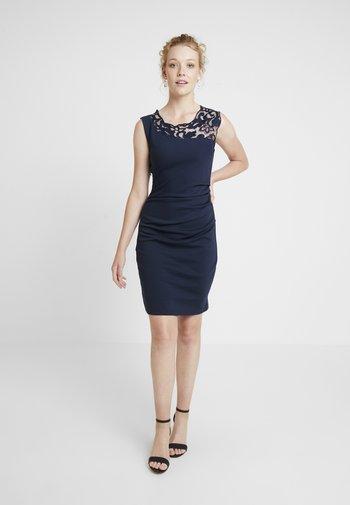 INDIA VIVI DRESS - Shift dress - midnight marine