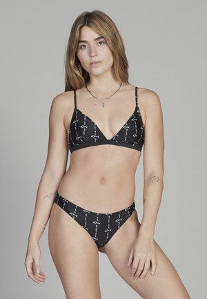 Bikini bottoms - black quik bone
