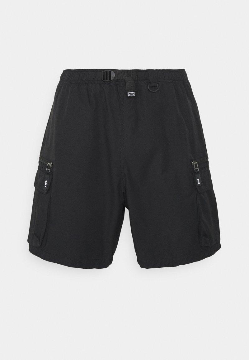 Obey Clothing - WARFIELD TREK - Shorts - black