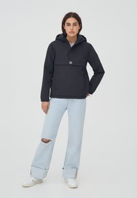 PULL&BEAR - Giacca invernale - black - 1