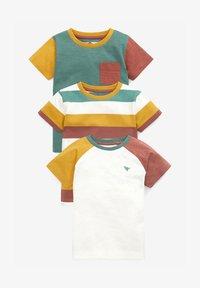 Next - 3 PACK  - T-shirt print - multi-coloured - 0