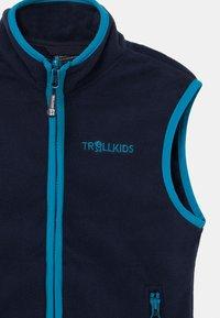 TrollKids - KIDS ARENDAL UNISEX - Waistcoat - navy/light blue - 2