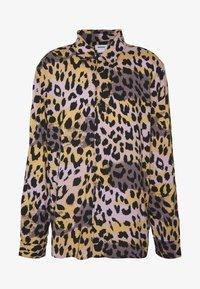 Weekday - NINO LEOSPLASH SHIRT - Overhemd - black - 4