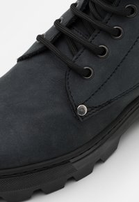 DECHASE - BOKINA UNISEX - Lace-up ankle boots - black - 5