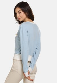 faina - Cardigan - light blue - 2