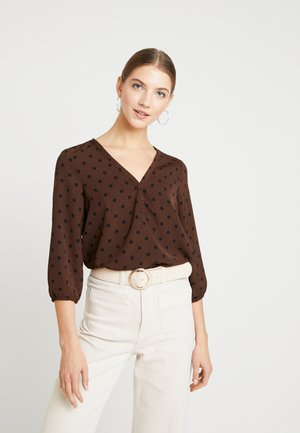 VMDOTERA  - Blouse - coffee bean