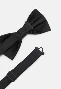 Pier One - SET - Tie - black - 4
