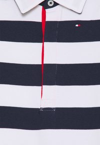 Tommy Hilfiger - BABY RUGBY STRIPE SHORTALL UNISEX - Jumpsuit - twilight navy - 2