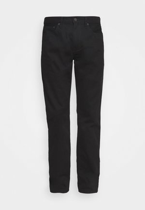 Straight leg jeans - true black