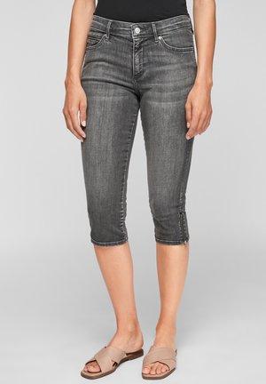 PANTALON - Denim shorts - medium grey