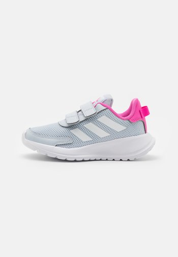 TENSAUR RUN UNISEX - Neutral running shoes - halo blue/footwear white/screaming pink