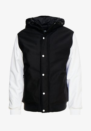 WELLS  - Light jacket - black/white