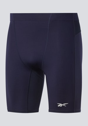 UNITED BY FITNESS COMPRESSION SHORTS - Träningsshorts - blue