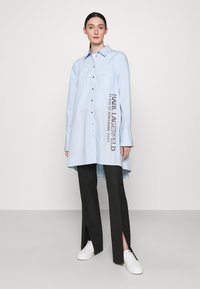 KARL LAGERFELD - EMBELLISHED  - Button-down blouse - cashmere blue - 1