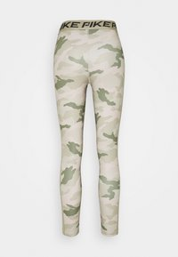 Nike Performance - TIGHT 7/8 CAMO - Tights - stone/mystic stone - 1